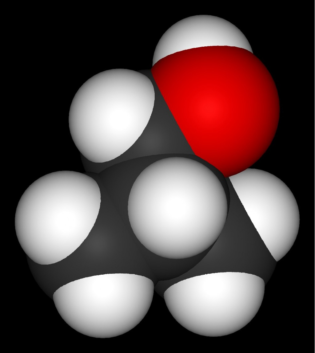 Molecule Model of Isobutanol