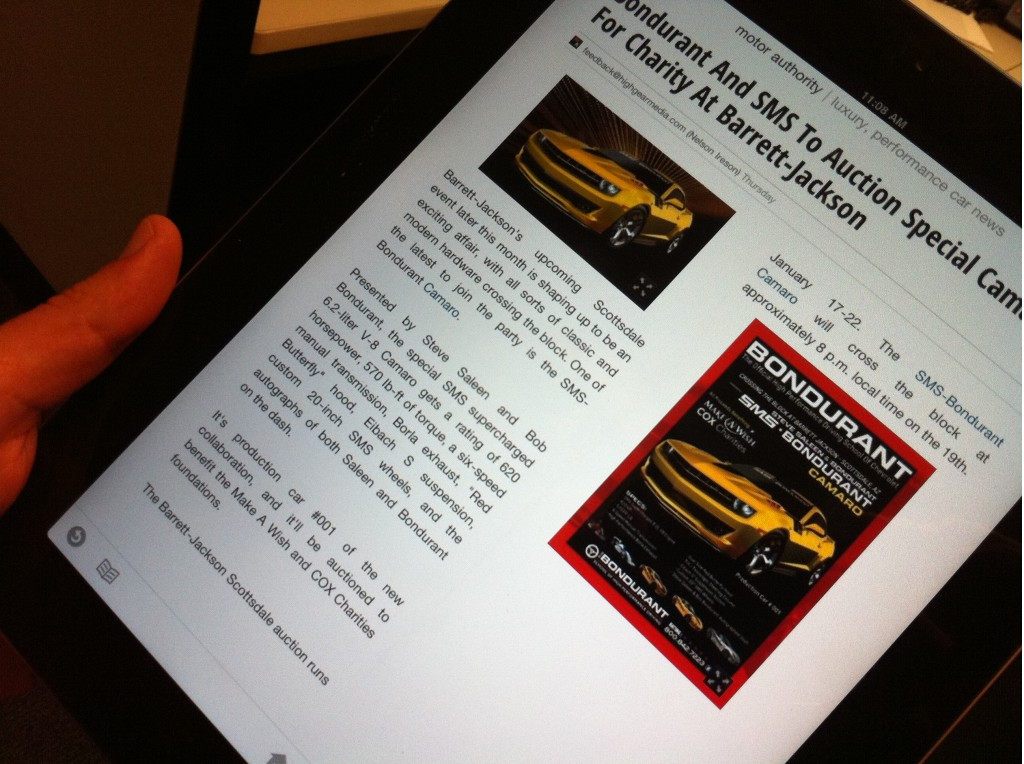 Motor Authority On Google Currents