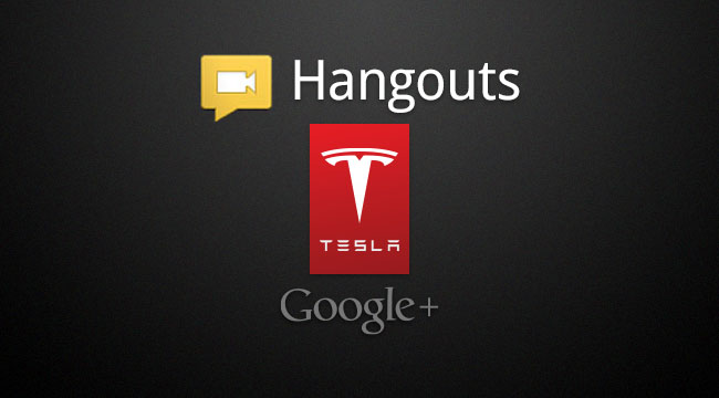 Motor Authority's Tesla Hangout on Air