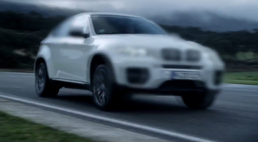 Mysterious BMW X6 M testing in Europe.