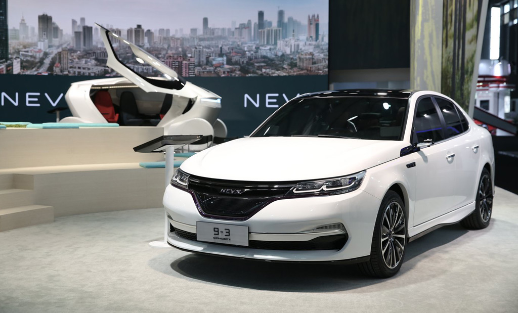 Nevs Reveals Chinese Electric Cars Based On Former Saab 9