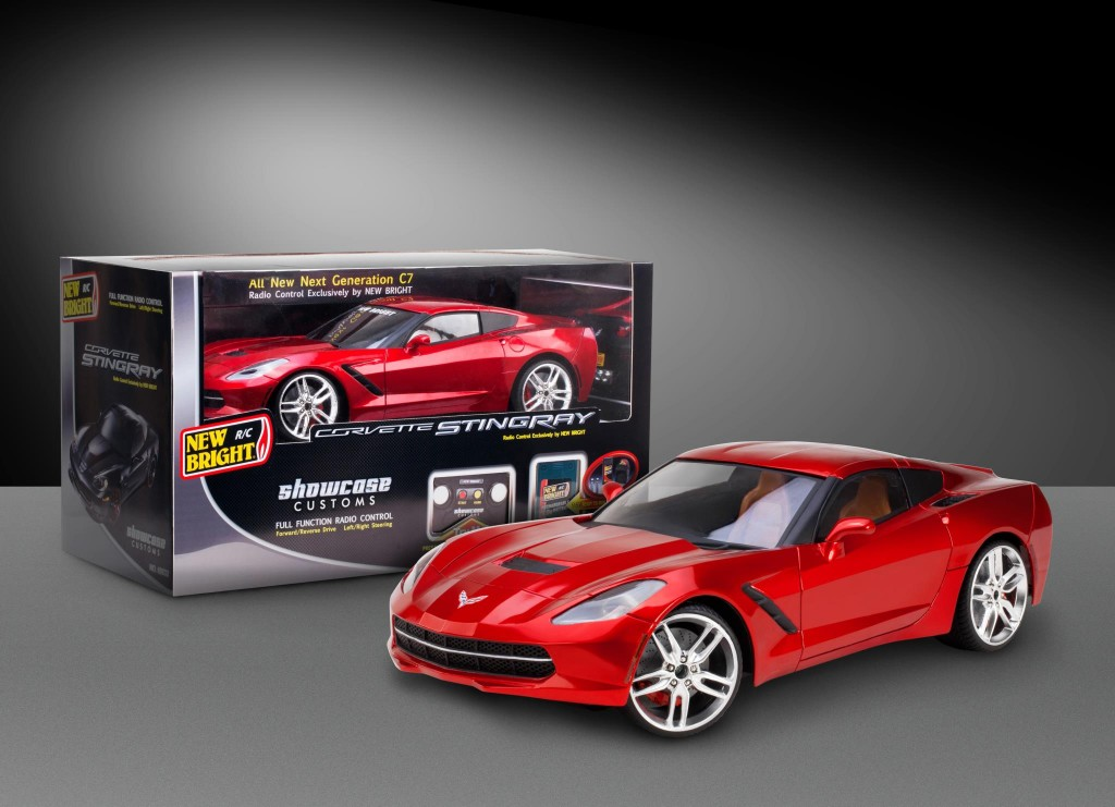 New Bright's 1/8 scale, radio-controlled 2014 Corvette Singray - image: New Bright