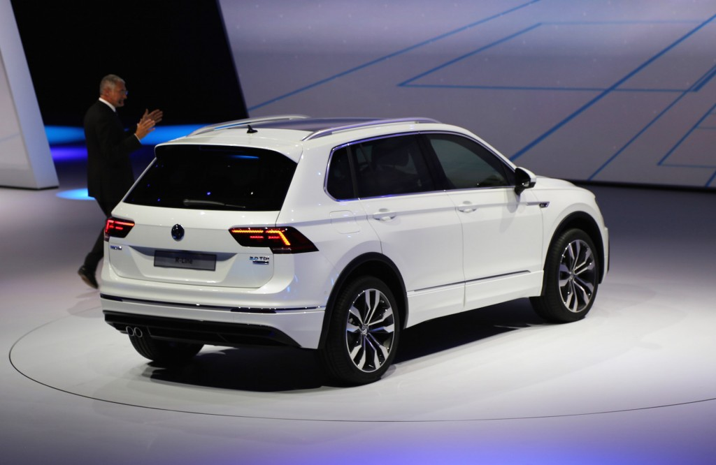 image new volkswagen tiguan european spec 2015 frankfurt auto show size 1024 x 666 type. Black Bedroom Furniture Sets. Home Design Ideas
