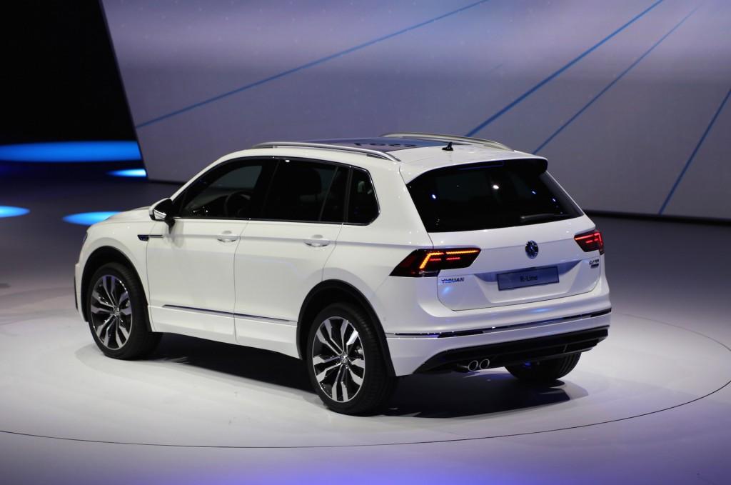 Image: New Volkswagen Tiguan (European-spec), 2015 ...