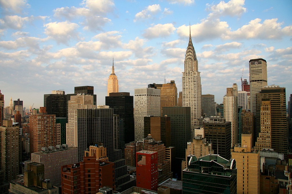 New York City skyline (by Flickr user AngMoKio)