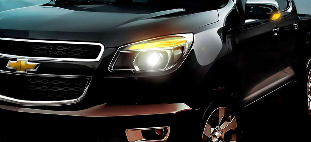 Next-gen Chevrolet Colorado teaser