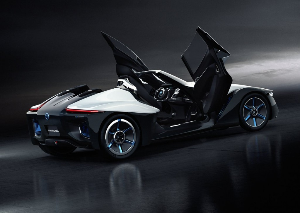 Nissan BladeGlider Electric Sports Car Concept  -  2013 Tokyo Motor Show