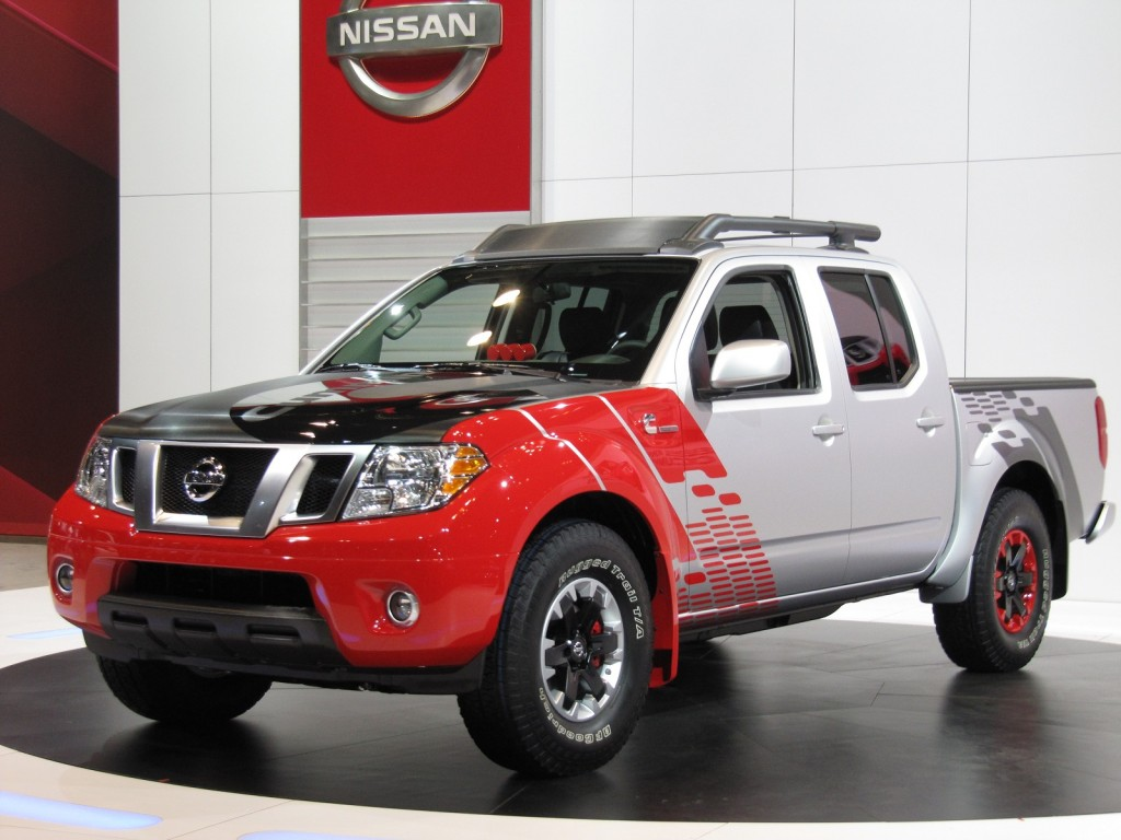 Nissan Frontier Diesel Runner concept at 2014 Chicago Auto Show