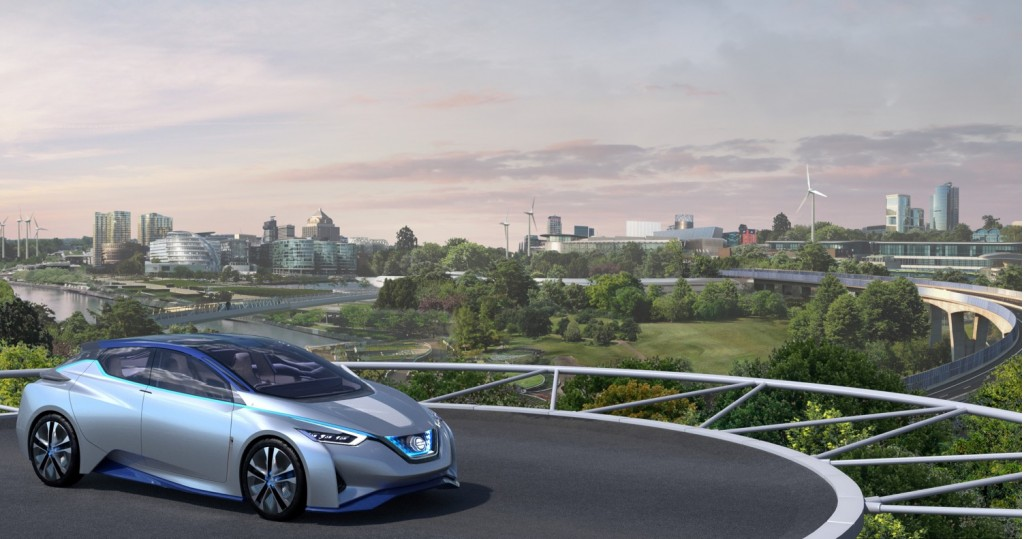 """Image: Nissan """"fuel station of the future"""", size: 1024 x 539, type ..."""