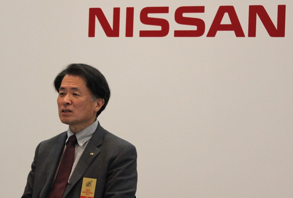 Nissan global research and development chief Mitsuhiko Yamashita