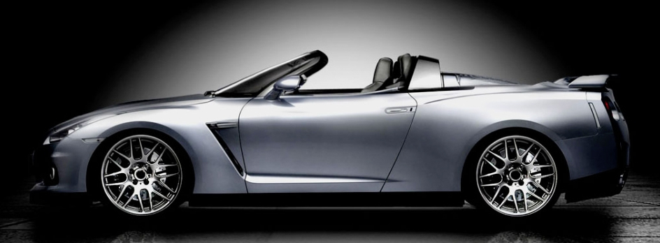 Newport Convertible Pries Off The Roof Of The Nissan GT-R