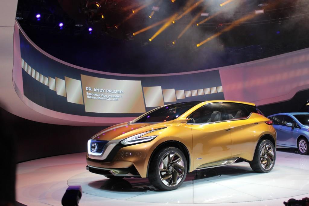 Nissan Resonance Concept At Detroit: Previewing The Next Murano?