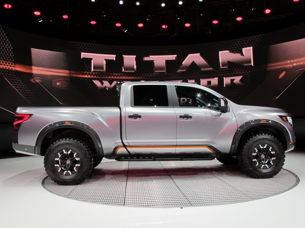 image nissan titan warrior concept 2016 detroit auto show size 1024 x 768 type gif posted. Black Bedroom Furniture Sets. Home Design Ideas