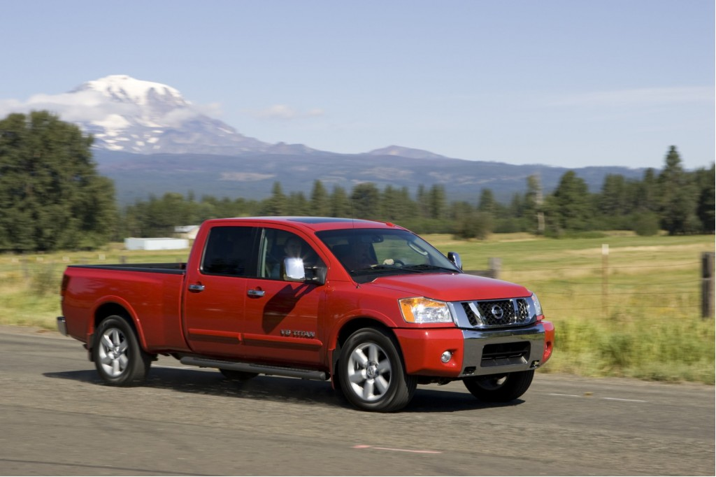 2010 Nissan Titan: 'Sports Car Of Trucks' Gets A Safety Boost
