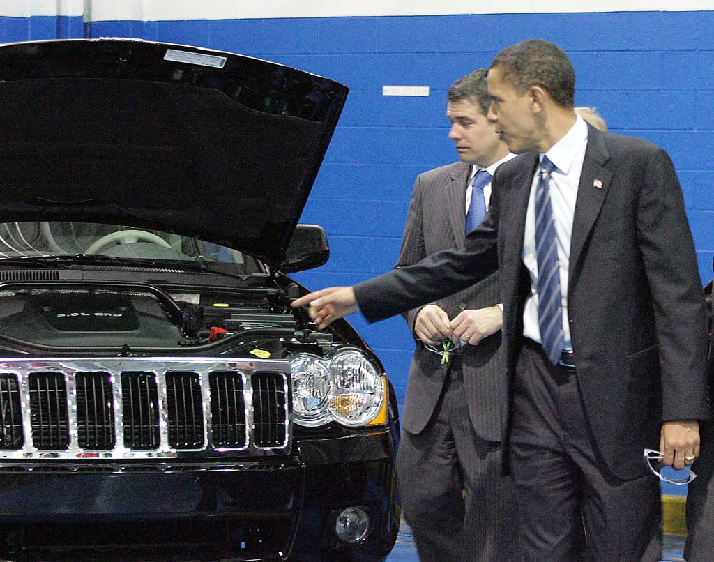 Obama at Chrysler Plant