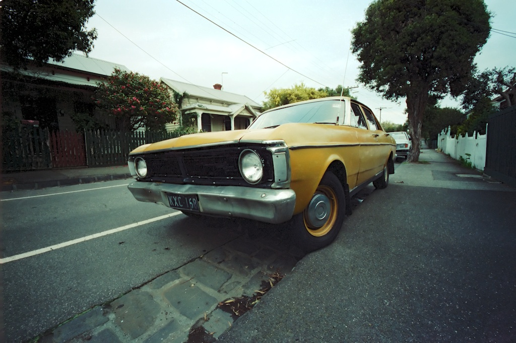 Old cars recycled to plant trees [Photo: Flickr user lonely radio]