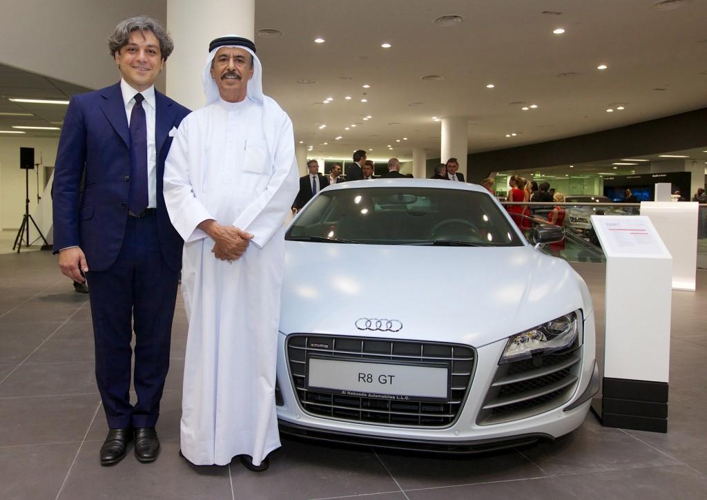 Opening of the Dubai Audi terminal