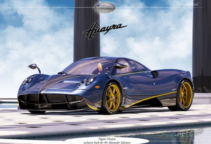 One Off Pagani Huayra 730 S Design Revealed