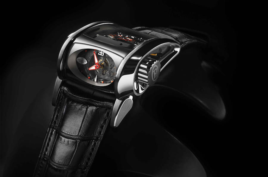 Parmigiani Fleurier Bugatti Super Sport, also availabe in Rose-gold