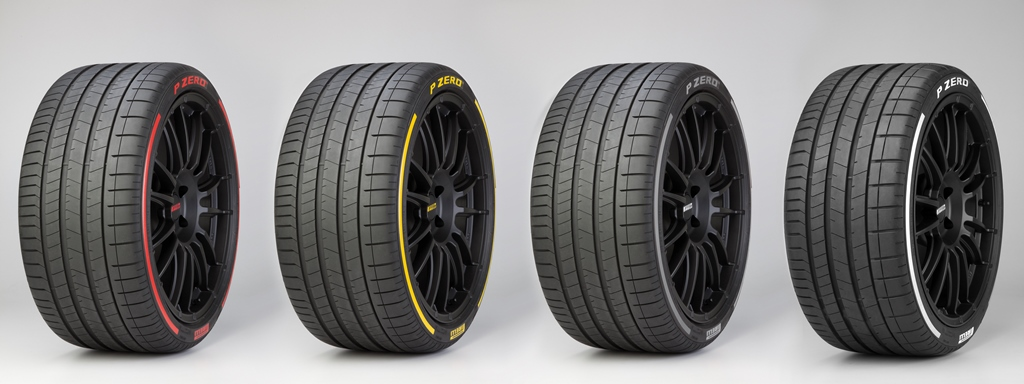 Pirelli Offering Colored Tires Tires That Talk To An App