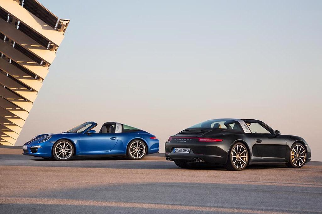2014 Porsche 911 Targa 4 and 911 Targa 4S