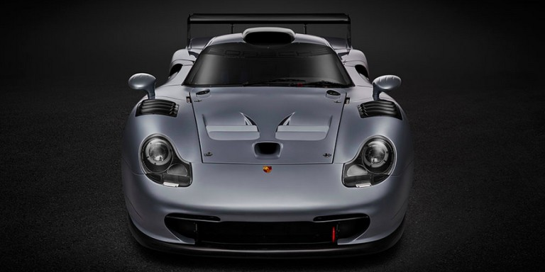 only road legal porsche 911 gt1 evo race car up for auction. Black Bedroom Furniture Sets. Home Design Ideas