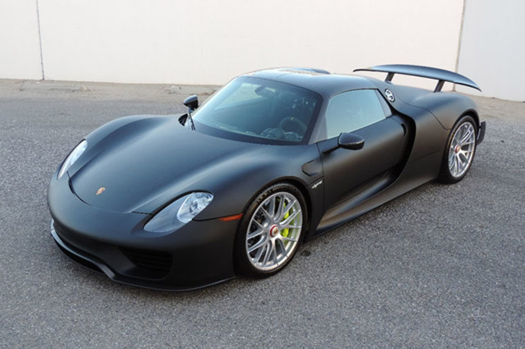 Unpainted Porsche 918 Spyder Up For Sale