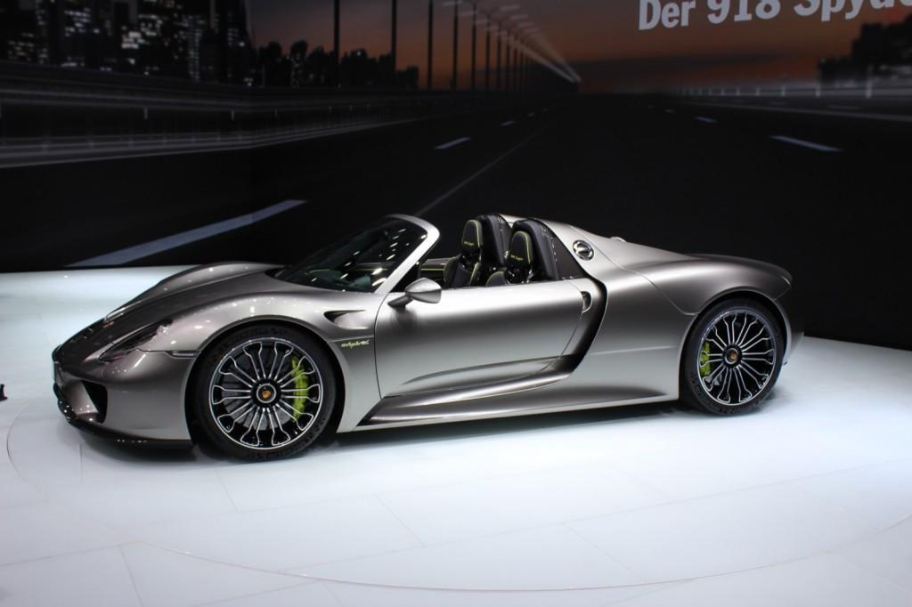 2015 Porsche 918 Spyder, 2013 Frankfurt Auto Show
