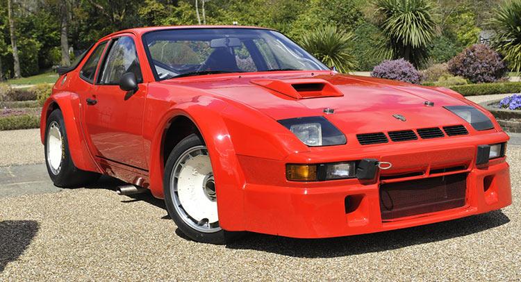 Rare Porsche 924 Carrera GTR comes up for auction