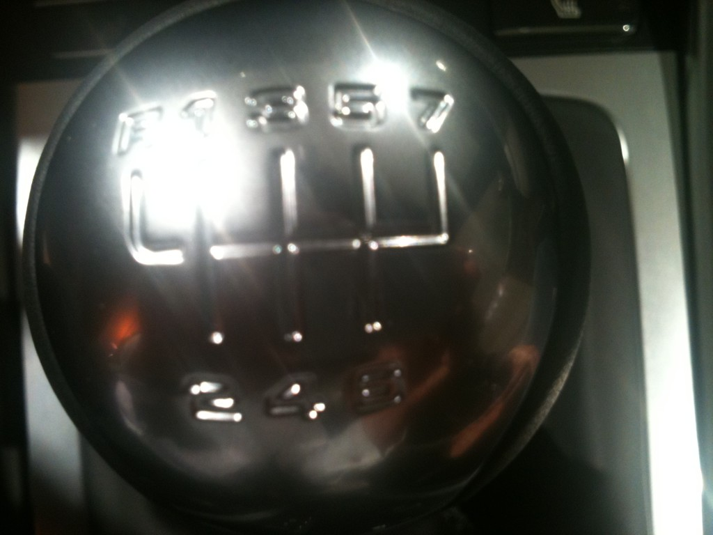2012 Porsche 911 Seven-Speed Manual Shift Pattern: No ...