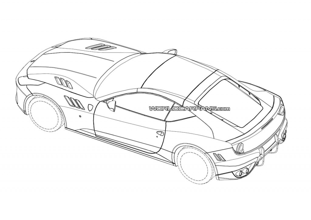 Image Possible Patent Drawings For The 2015 Ferrari