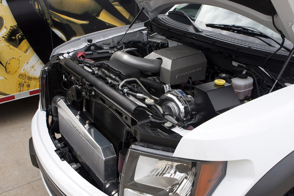 ProCharger Releases 600-HP Supercharger Kit For Ford F-150 SVT Raptor