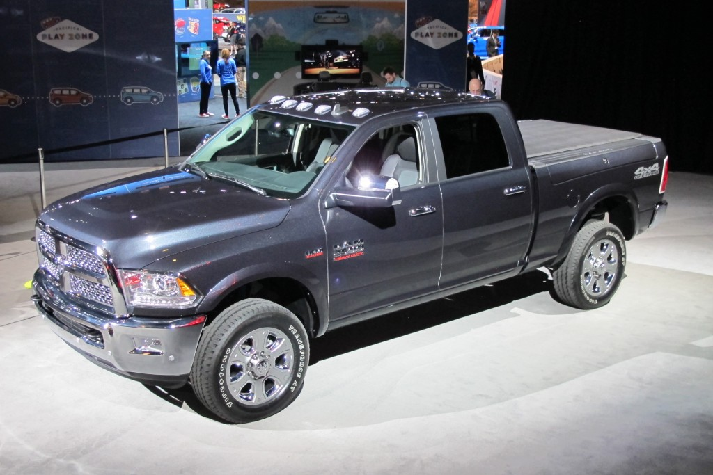Image 2017 Ram 2500 Off Road 2016 Chicago Auto Show