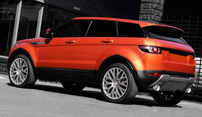 Range Rover Evoque 'Vesuvius' by A. Kahn Design
