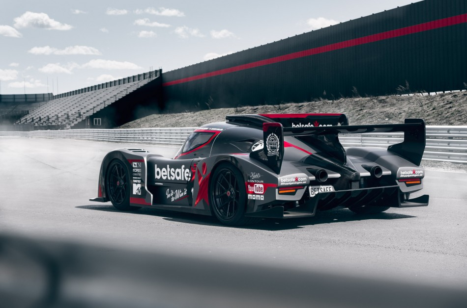 Rebellion R2K Street-Legal Race Car For Gumball 3000