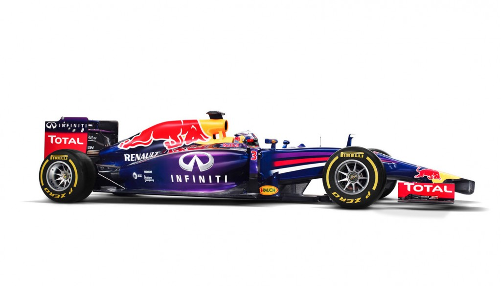 Red Bull Racing's RB10 2014 Formula One car