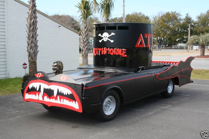ebay find animal house deathmobile replica buy it now for 12 500. Black Bedroom Furniture Sets. Home Design Ideas