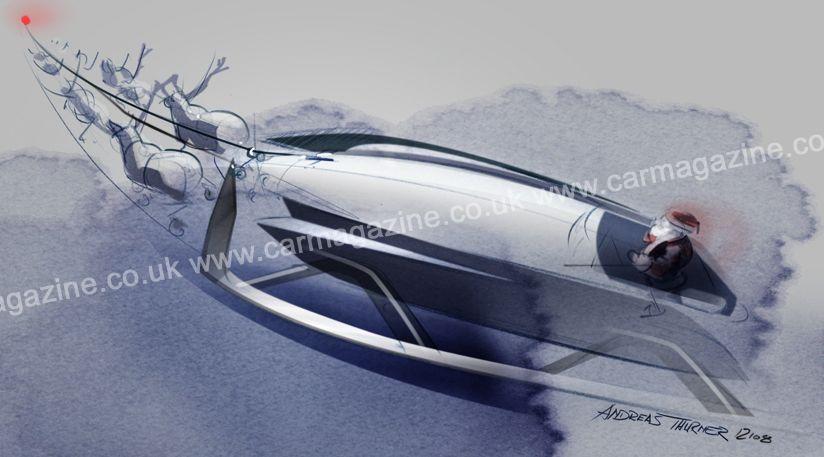 Rolls-Royce Santa Sleigh