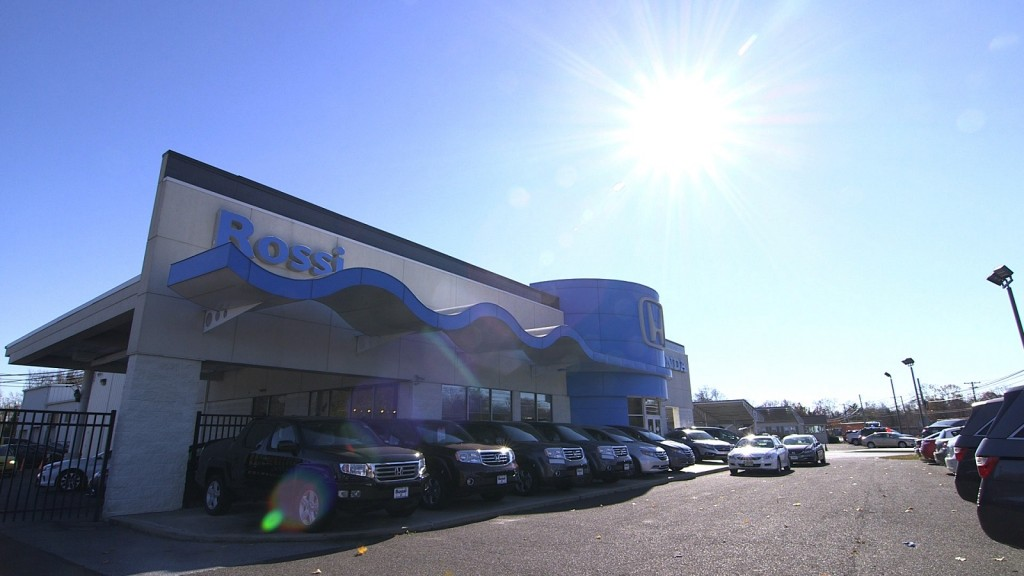 Rossi Honda dealership, Vineland, New Jersey