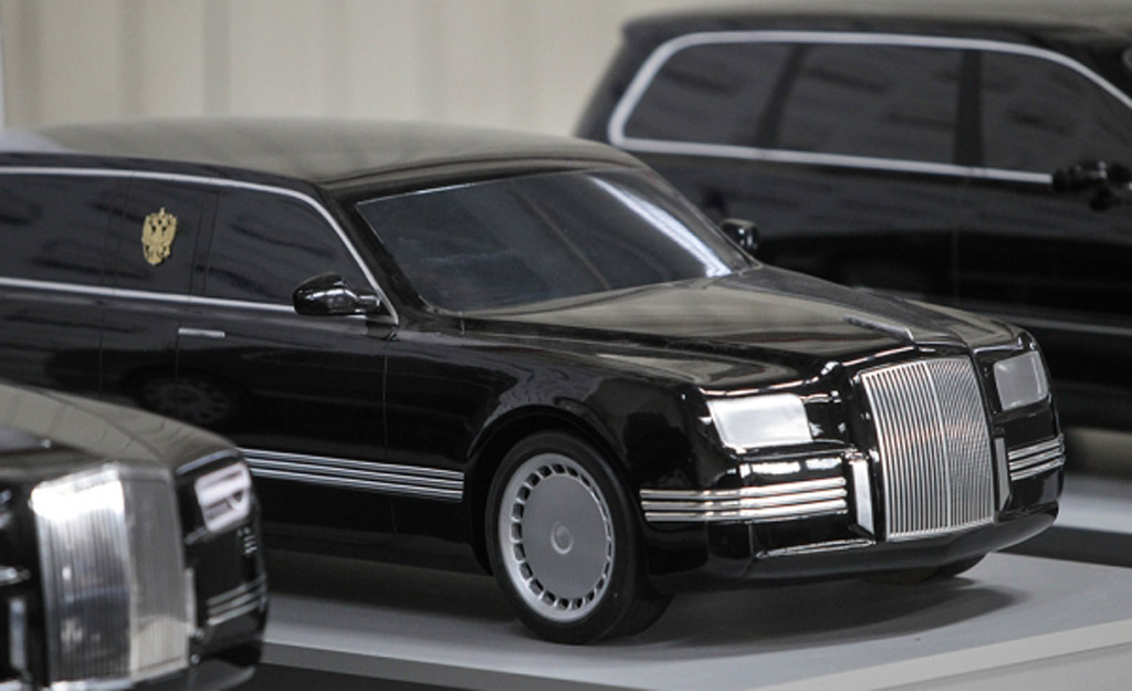 Moscow Reveals Presidential Limo Concepts May Seek