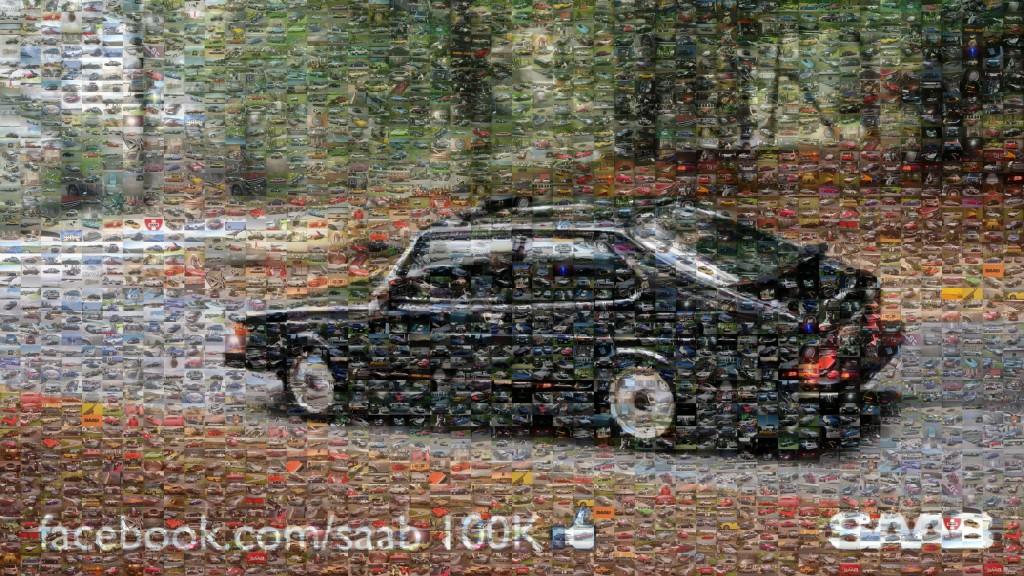 Saab Facebook Fans, 100k