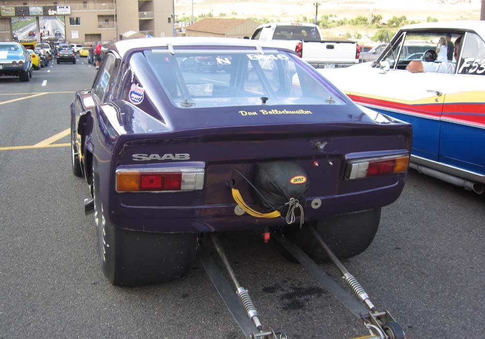 Saab Sonett drag race car