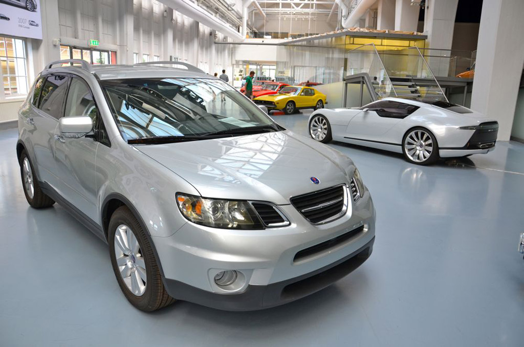 The Subaru Tribeca Based Saab 9 6 Crossover That Never Was