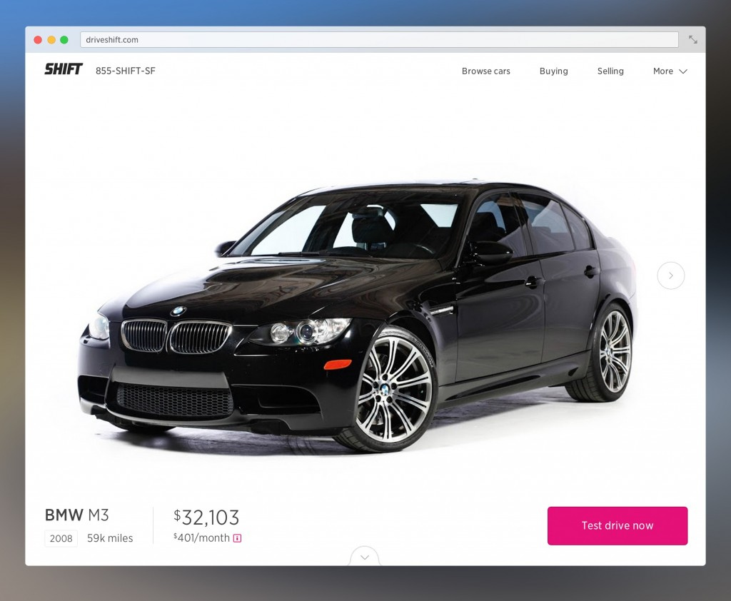 Shift Start-Up Helps You Sell Your Old Car & Find A New One: Are Used Car Dealers Doomed?