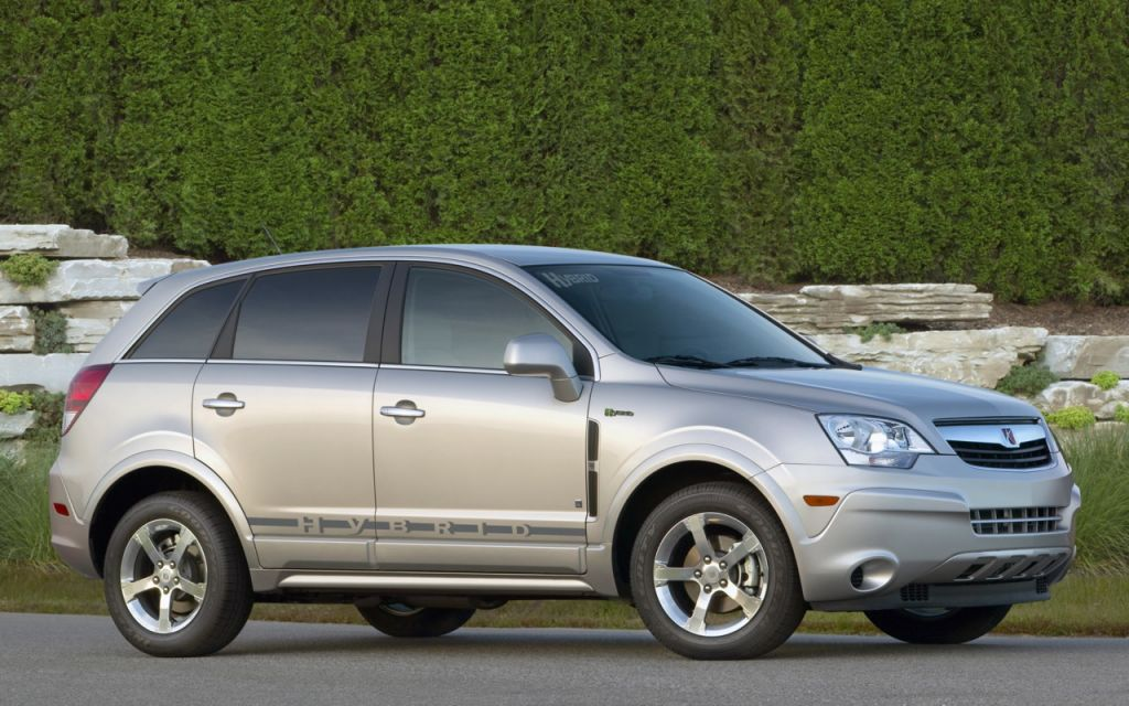 quick drive 2009 saturn vue hybrid. Black Bedroom Furniture Sets. Home Design Ideas