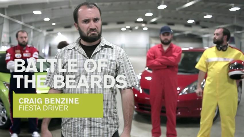 Screencap from Craig Benzine's video for the Fiesta Movement