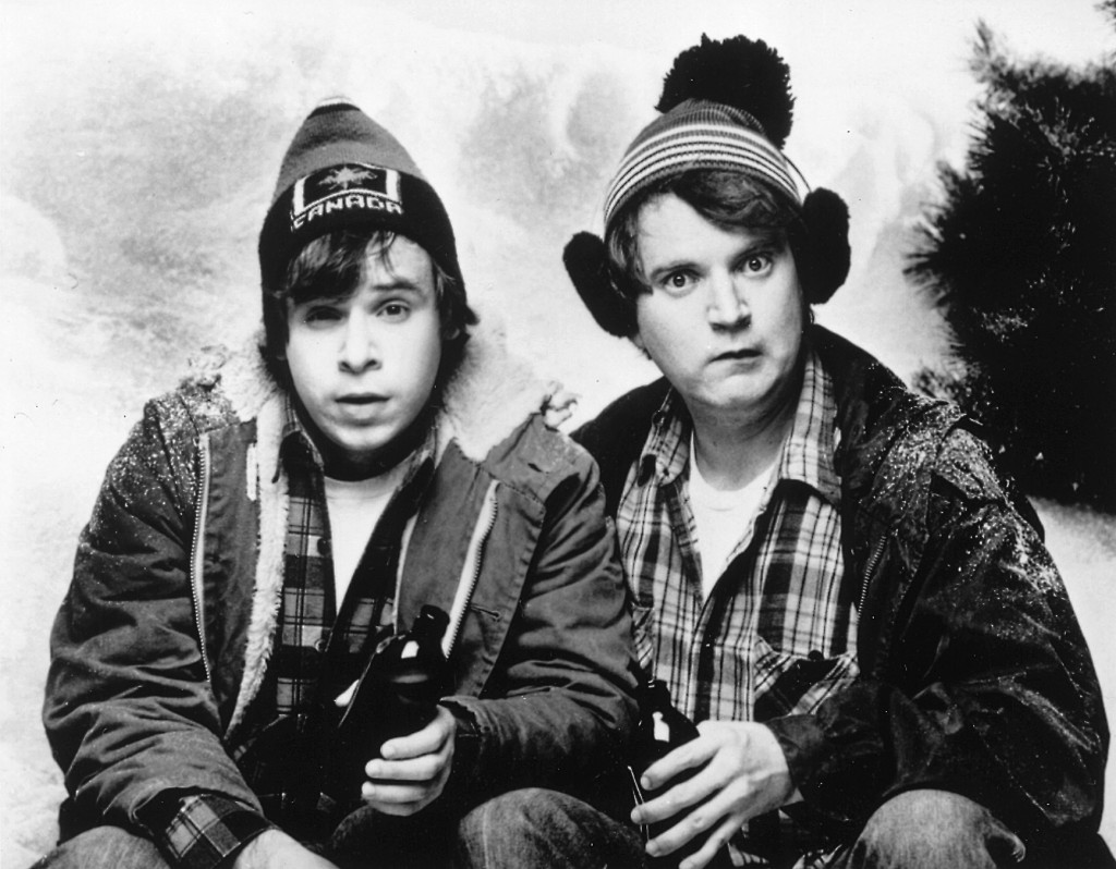 SCTV's 'Great White North' sketch, starring Rick Moranis & Dave Thomas as Bob & Doug McKenzie