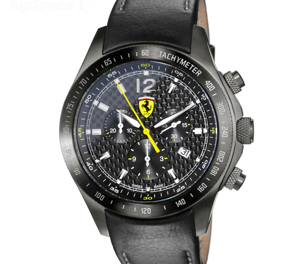 scuderia ferrari carbon chrono watch goes on sale. Cars Review. Best American Auto & Cars Review
