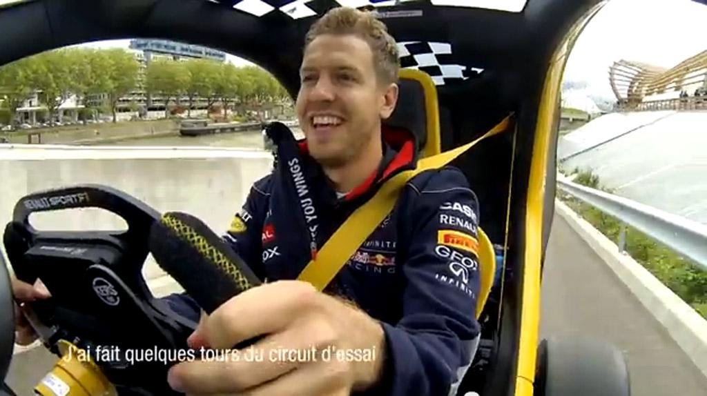 Sebastian Vettel Gets His First Taste Of Electric Cars ...