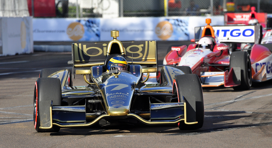 A Look Back At St Pete As Indy Cars Head For Alabama